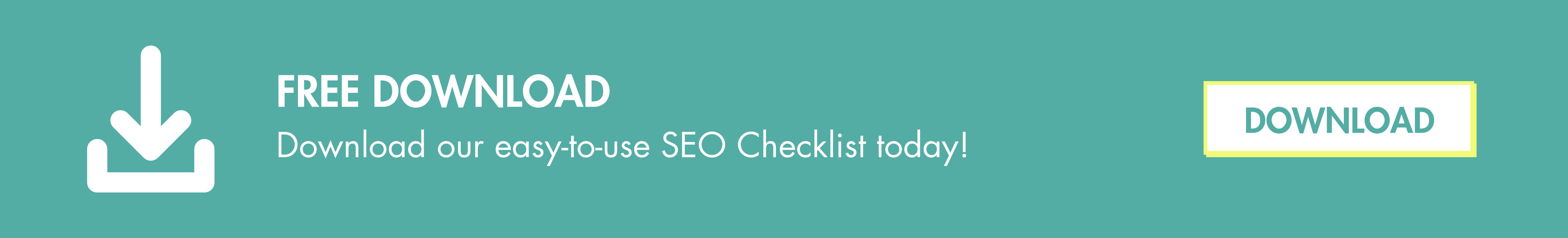Download SEO Checklist