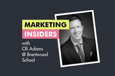 Marketing Insiders with Oli Adams