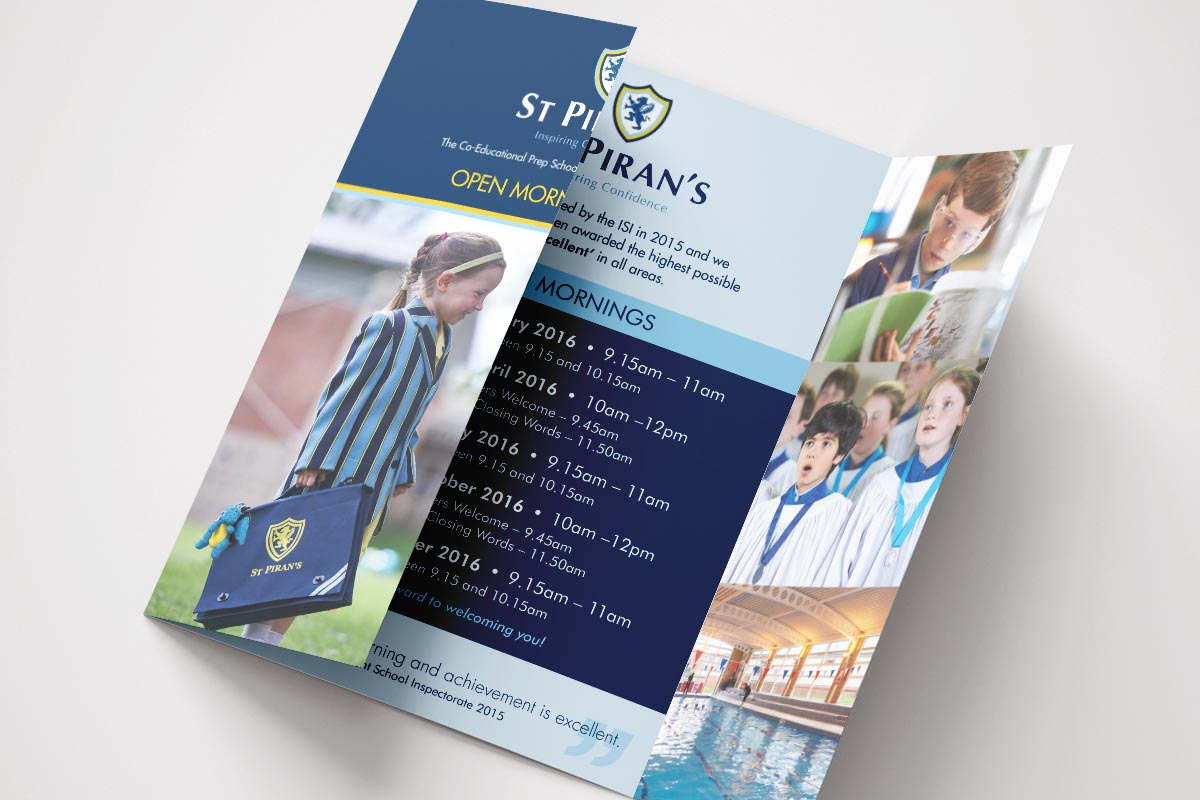 st pirans open mornings brochure
