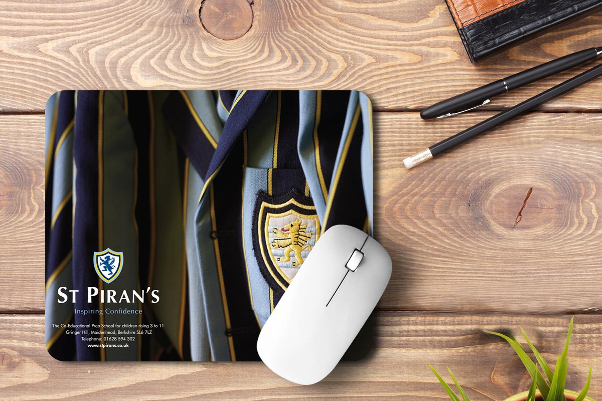 custom mouse pad for st pirans school